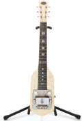 Musical Instruments:Lap Steel Guitars, 1954 Oahu White MOTS Lap Steel Guitar #X35244...