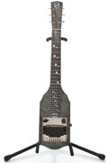 Musical Instruments:Lap Steel Guitars, 1949 National Gray MOTS Lap Steel Guitar #V17869...
