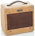 Musical Instruments:Amplifiers, PA, & Effects, 1950's Fender Champ-Amp Tweed Guitar Amplifier #7644 DK...