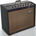 Musical Instruments:Amplifiers, PA, & Effects, 1960's Gibson Starfire Gray Guitar Amplifier #455354...