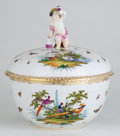 Ceramics & Porcelain, Whoopi Goldberg Collection. BERLIN FIGURAL PORCELAIN COVERED TUREEN . Germany, circa 1870. Marks: (scepter). 13-1/2 x ... (Total: 2 Items)