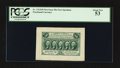 Fractional Currency:First Issue, Fr. 1313SP 50¢ First Issue Wide Margin Face PCGS About New 53.. ...