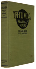 Books:First Editions, Edgar Rice Burroughs. Thuvia, Maid of Mars. Chicago:McClurg, 1920. First edition. Octavo. 256 pages. Publisher'...