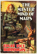 Books:Science Fiction & Fantasy, Edgar Rice Burroughs. The Master Mind of Mars. London: Methuen & Co., Ltd., [1939]. First edition. From the li...