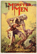 Books:Science Fiction & Fantasy, Edgar Rice Burroughs. The Monster Men. New York: Grosset& Dunlap, [1929]. Later edition. Inscribed by Danton Burr...