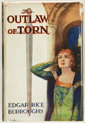 Books:First Editions, Edgar Rice Burroughs. The Outlaw of Torn. London: Methuen,[1927]. First British edition, first printing. Octavo...