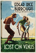 Books:Science Fiction & Fantasy, Edgar Rice Burroughs. Lost on Venus. London: Methuen &Co. Ltd., [1937]. First British edition. From the colle...