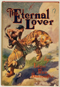 Books:Science Fiction & Fantasy, Edgar Rice Burroughs. The Eternal Lover. New York: Grosset & Dunlap, [1927]. First reprint edition, with fifteen ERB...