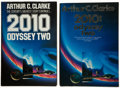 Books:Science Fiction & Fantasy, Arthur C. Clarke. Signed First American and First British Editions of 2010: Odyssey Two, including: 2010: Od... (Total: 2 Items)