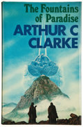 Books:Signed Editions, Arthur C. Clarke. The Fountains of Paradise. London: VictorGollancz, 1979. First edition. Signed by the author. ...