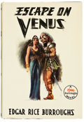 Books:Science Fiction & Fantasy, Edgar Rice Burroughs. Escape on Venus. Tarzana, California:Edgar Rice Burroughs, Inc., [1946]. First edition. ...