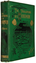 Books:Science Fiction & Fantasy, Jules Verne. The Tribulations of a Chinaman. New York: E. P. Dutton and Company, 1881. First illustrated edition...