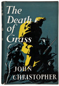 Books:Science Fiction & Fantasy, John Christopher. The Death of Grass. London: Michael Joseph, [1956]. First edition. Octavo. 231 pages. Publishe...
