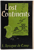 Books:Science Fiction & Fantasy, L. Sprague de Camp. Lost Continents. The Atlantis Theme in History, Science, and Literature. New York: The G...