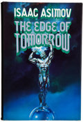 Books:Science Fiction & Fantasy, Isaac Asimov. The Edge of Tomorrow. [New York]: Tom DohertyAssociates, [1985]. First edition, first printing. ...