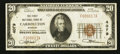National Bank Notes:Missouri, Carrollton, MO - $20 1929 Ty. 1 The First NB Ch. # 4079. ...