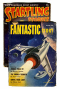 Pulps:Science Fiction, Assorted Science Fiction Pulps (Various, 1952-55) Condition:Average VG-.... (Total: 2 Items)