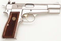 Handguns:Semiautomatic Pistol, **Browning Hi-Power Semi-Automatic Pistol by FN....