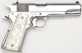 Handguns:Semiautomatic Pistol, Boxed Colt Government Model 'El Senador' Semi-Automatic Pistol....