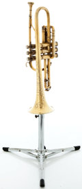 Musical Instruments:Horns & Wind Instruments, 1930's King Master Model Brass Trumpet #204792...