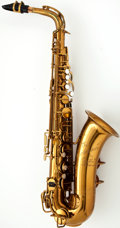 Musical Instruments:Horns & Wind Instruments, 1950's The Martin Indiana Brass Alto Saxophone #62774...