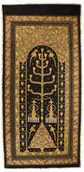 Miscellaneous, INDIAN EMBROIDERED PANEL . 20th century. 106 x 50 inches (269.2 x 127 cm). ...