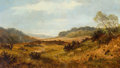 Paintings, HENRY W. HENLEY (British, 1831-1931). Cannock Chase Near Penkridge, circa 1880. Oil on canvas. 14 x 24 inches (35.6 x 61...