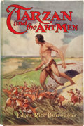 Books:First Editions, Edgar Rice Burroughs. Tarzan and the Ant Men. Chicago:McClurg, 1924. First edition. Octavo. 346 pages. Bound in at ...