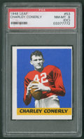 Football Cards:Singles (Pre-1950), 1948 Leaf Charley Conerly #53 PSA NM-MT 8 (OC)....