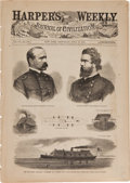 Miscellaneous:Newspaper, Civil War-dated Harper's Weekly (2)... (Total: 2 Items)