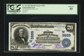 National Bank Notes:Nebraska, Wood River, NE - $20 1902 Date Back Fr. 644 The First NB Ch. # (W)3939. ...