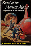Books:First Editions, Donald A. Wollheim. Secret of the Martian Moons.Philadelphia: John C. Winston, [1955]. First edition. Publisher'sb...