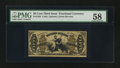 Fractional Currency:Third Issue, Fr. 1358 50¢ Third Issue Justice PMG Choice About Unc 58.. ...