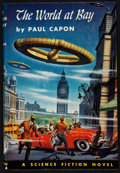 Books:First Editions, Paul Capon. The World at Bay. Philadelphia: The John C.Winston Company, [1954]. First edition, review copy with...