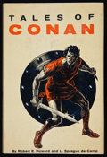Books:Science Fiction & Fantasy, Robert E. Howard and L. Sprague de Camp. Tales of Conan. New York: Gnome Press Inc., [1955]. First edition. Si...