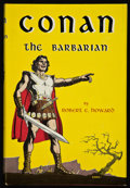 Books:Science Fiction & Fantasy, Robert E. Howard. Conan the Barbarian. New York: GnomePress, Inc. Publishers, [1954]. First edition. Octavo. 22...