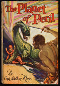 Books:Science Fiction & Fantasy, Otis Adelbert Kline. The Planet of Peril. Chicago: A. C.McClurg & Company, 1929. First edition. Octavo. 358 pages. ...