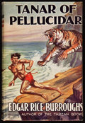 Books:Science Fiction & Fantasy, Edgar Rice Burroughs. Tanar of Pellucidar. London: Methuen & Co., Ltd., [1940]. Second British edition. From t...