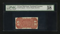 Fractional Currency:Third Issue, Fr. 1273-5SP 15¢ Third Issue Narrow Margin Back PMG Choice About Unc 58.. ...