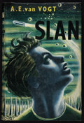 Books:Science Fiction & Fantasy, A. E. van Vogt. Slan. London: Weidenfeld and Nicolson, [1953]. First British edition. Inscribed and signed by ...