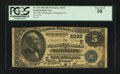 National Bank Notes:Pennsylvania, Slatington, PA - $5 1882 Date Back Fr. 534 The NB of Slatington Ch.# (E)2293. ...