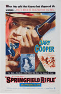 Memorabilia:Poster, Springfield Rifle Movie Poster (Warner Brothers, 1952)....