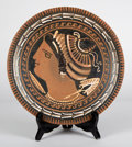 Antiquities:Greek, Antiquities: GREEK SOUTHERN ITALY. Apulian red-figure plate, ca.330-320 BC. ... (Total: 2 items)