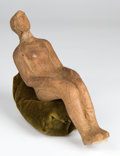 Antiquities:Ancient Near East, Antiquities: ANCIENT NEAR EAST. Syria-Mesopotamia, ca. 500-300 BC.Reclining terracotta votive figure of a woman. ...