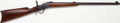Long Guns:Lever Action, Winchester Model 1885 Low Wall Target Rifle....