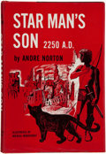 Books:Signed Editions, Andre Norton. Star Man's Son 2250 A.D. New York: Harcourt,Brace & Company, [1952]. First edition, Currey binding A....