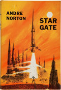 Books:Science Fiction & Fantasy, Andre Norton. Star Gate. New York: Harcourt, Brace and Company, [1958]. Later edition. Inscribed and signed by...
