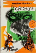 Books:Science Fiction & Fantasy, Andre Norton. Catseye. New York: Harcourt, Brace & World, Inc., [1961]. First edition. Inscribed and signed by...