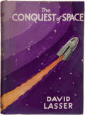 Books:Science Fiction & Fantasy, David Lasser. The Conquest of Space. London: Hurst &Blackett, Ltd., [n. d., 1932]. First edition. Octavo. 288 p...