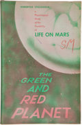 Books:First Editions, Hubertus Strughold. The Green and Red Planet.[Albuquerque]: University of New Mexico Press [1953]. Firsteditio...